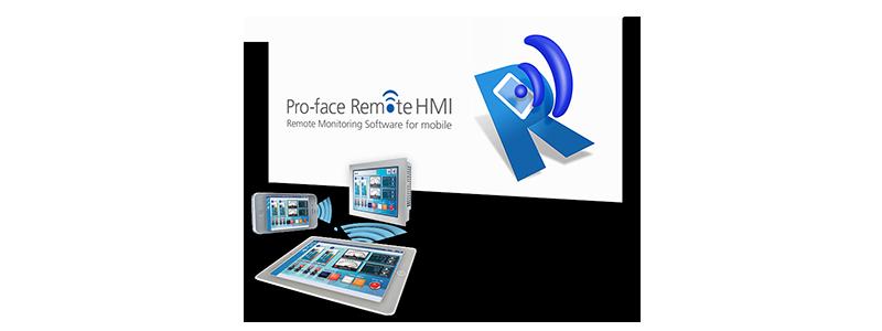 モバイル用リモートモニタリングソフトウェア Pro-face Remote HMI