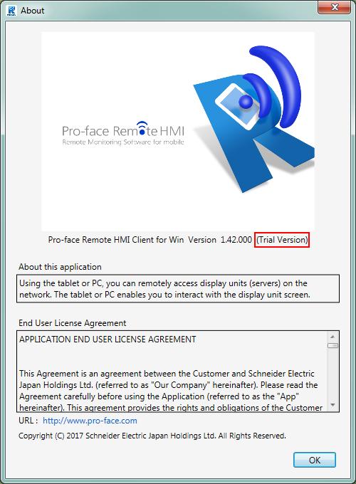 Pro-face Remote HMI Client for Win (Full Installer / Trial Version)