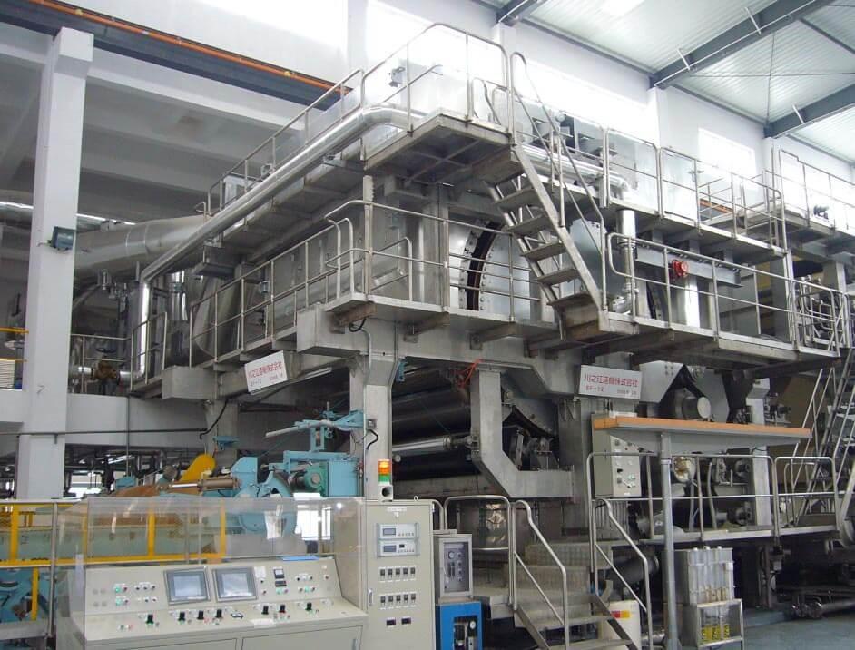 製紙機械、紙加工機械の専門メーカーの川之江造機株式会社